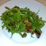 bistecca ai 3 pupazzi entrecote manzo danese funghi porcini e rucola