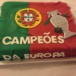 campeoes da europa cake
