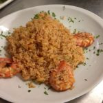 rice with shrimps