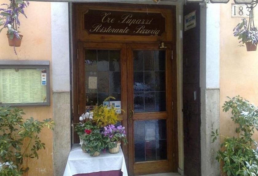 Reservations Pizza Restaurant Tre Pupazzi Rome Vatican